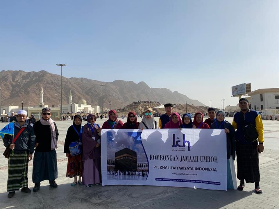Kunjungan ke Bukit Uhud Madinah