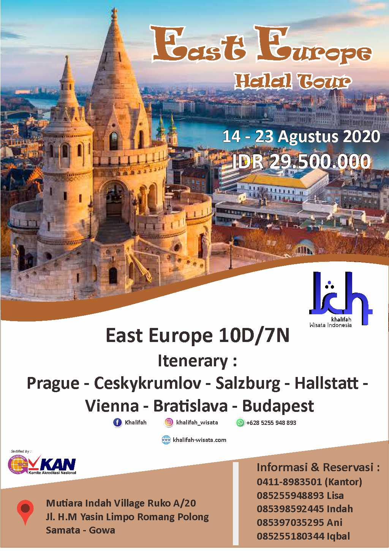Paket East Europe 10D 7N