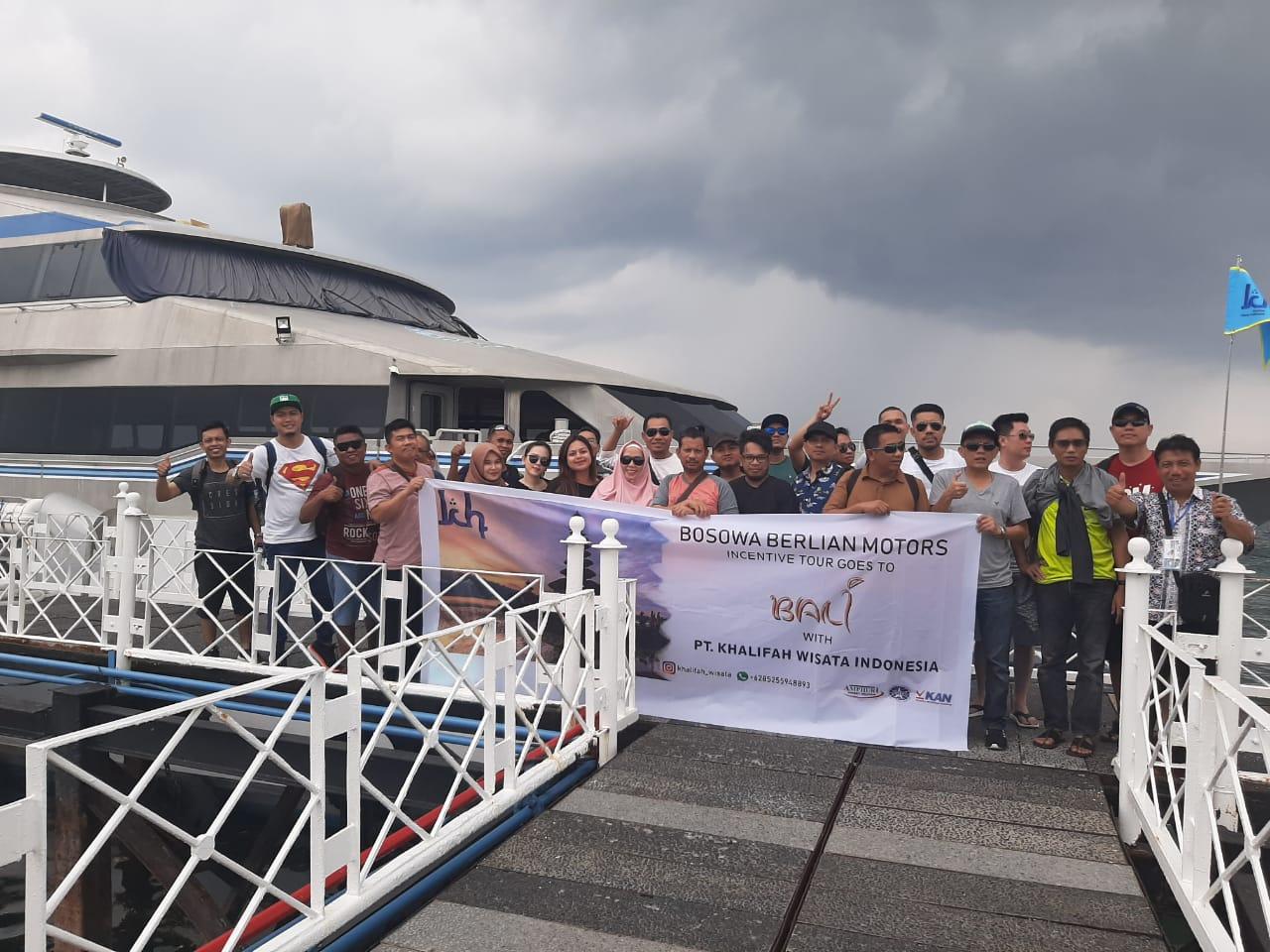 Grup Incentive tour Pt. Bosowa Berlian Motor Goes To Bali, Kunjungan ke Quicksilver Cruises(kapal pesiar)