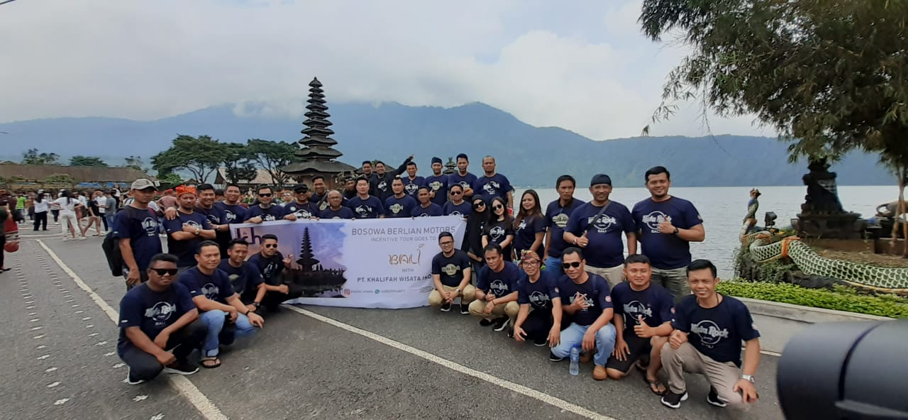Grup Incentive tour Pt. Bosowa Berlian Motor Goes To Bali, Kunjungan ke Pura Alun Danau Bedugul