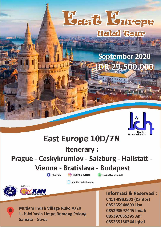 Paket Tour East Eroupe