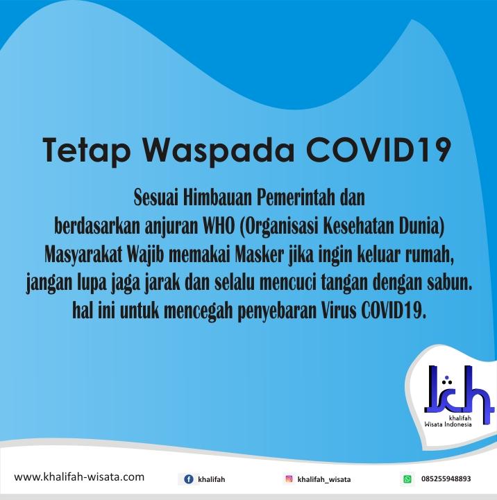 Tetap Waspada Covid19