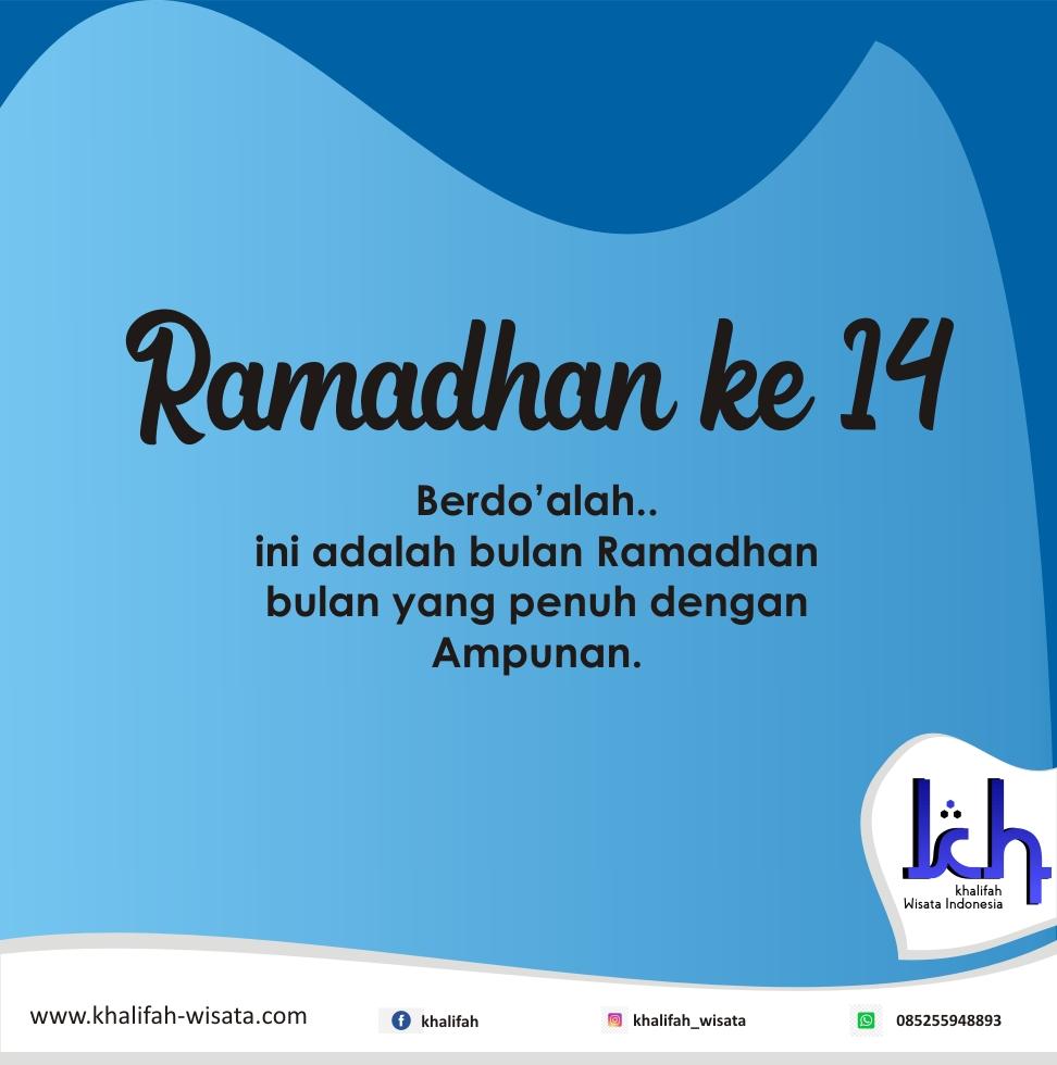 Ramadhan ke 14