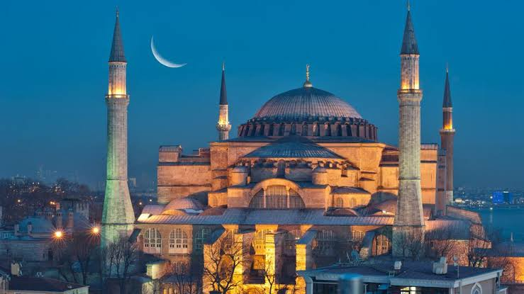 Masjid Hegia Sophia Turki
