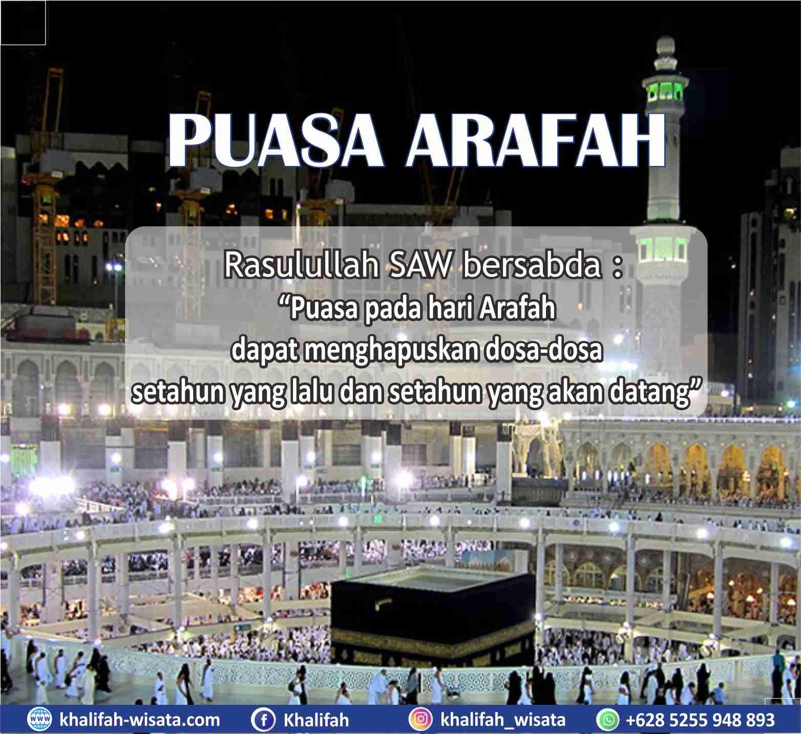 Puasa Arafah 9 Dzulhijjah