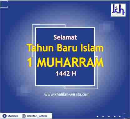 Tahun Baru Islam 1 Muharram 1442 Hijriah