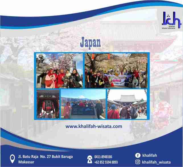 Wisata Halal Tour Jepang