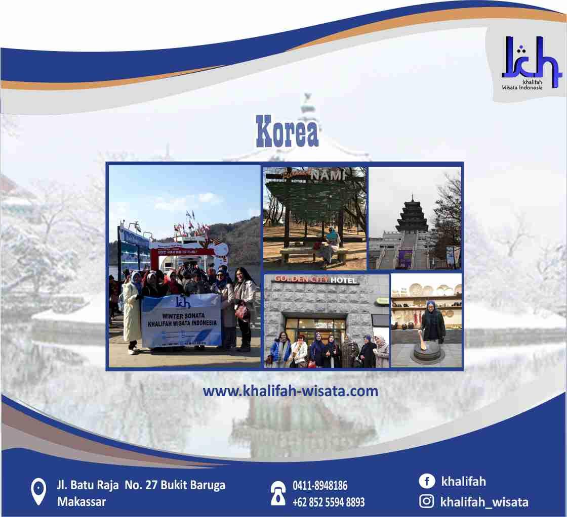 Wisata Halal Tour Korea